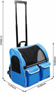 Approved carrier for cabin travel bag for your puppy